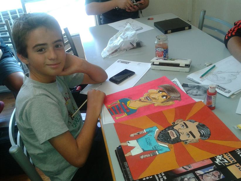 Luis Ordoez  Escuela de dibujo